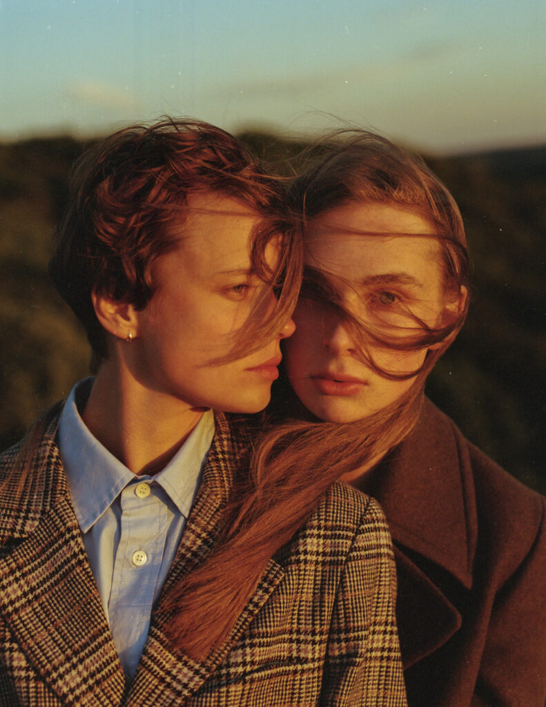 Julia and Emma for Scandinavian MAN Printed Issue #4, 2018