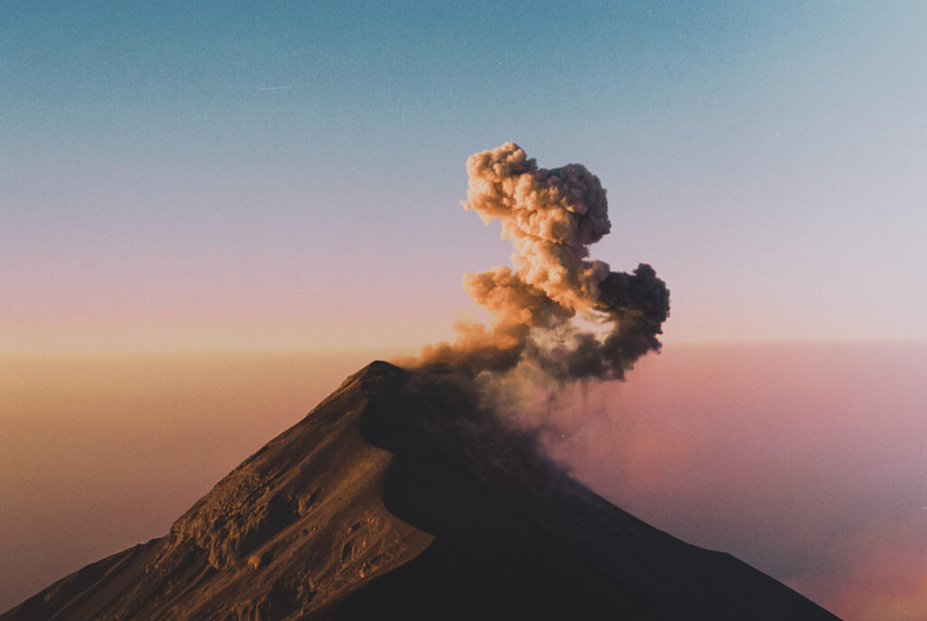 Acatenango Volcano, Guatemala, 2020
