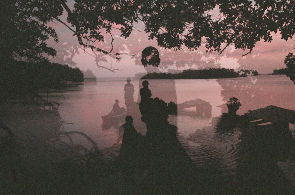 Isla Grande triple exposure, 2018