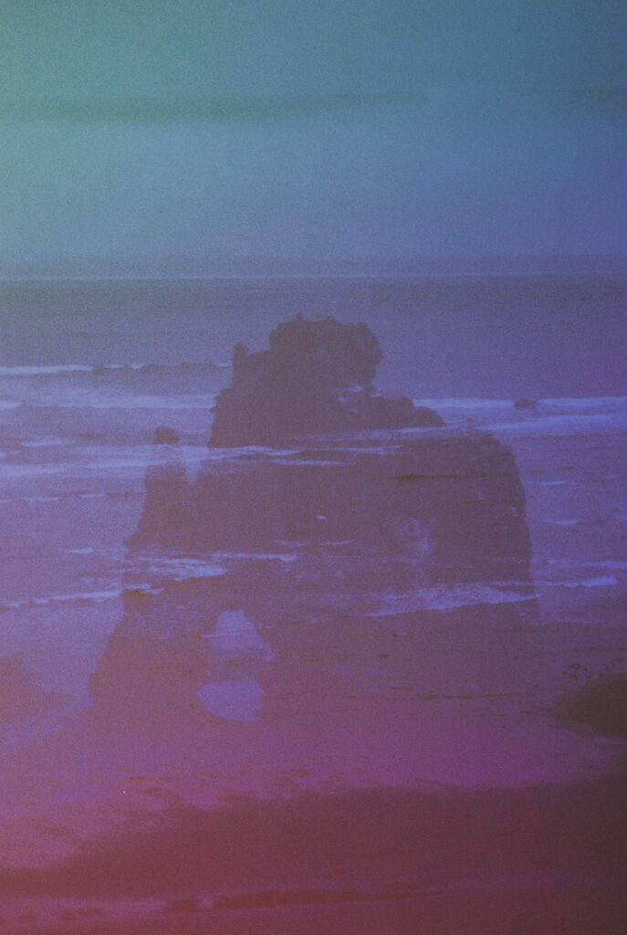 Double exposure, Iceland, 2018